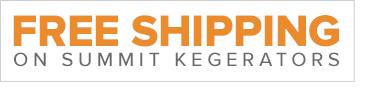 Free Shipping on Summit Kegerators